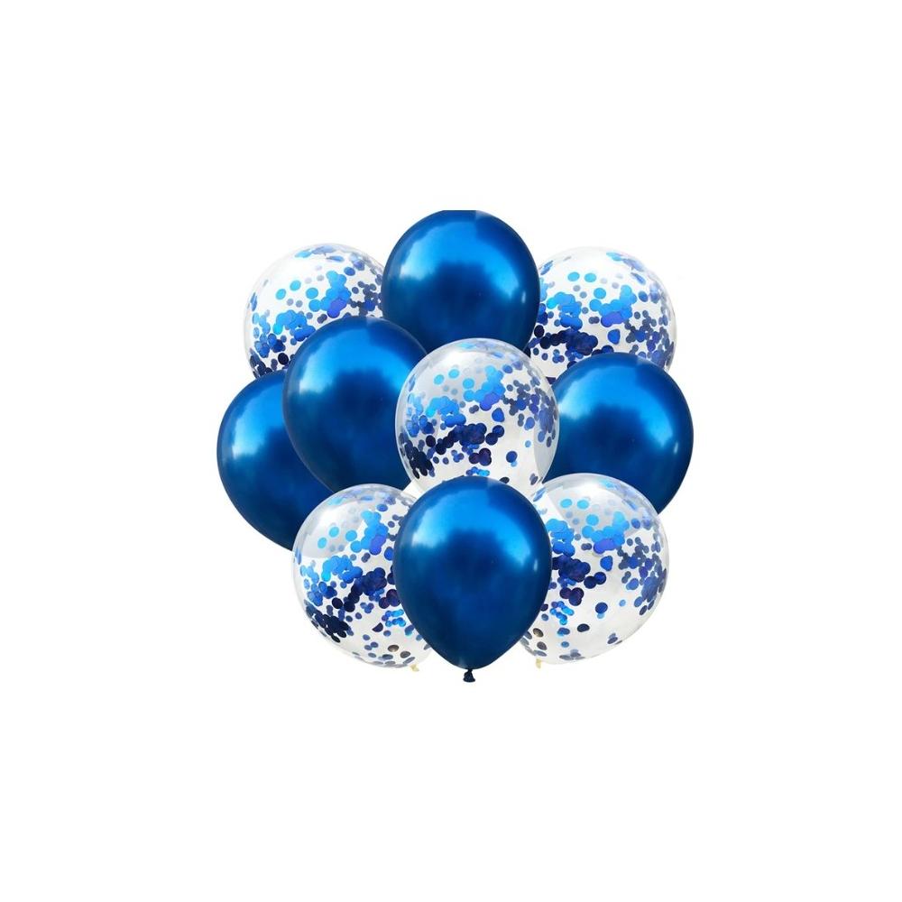 Sada nafukovacích balónků - modrá 10 ks