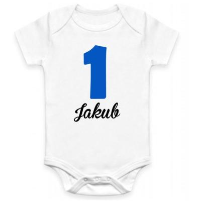 Dětské BODY 1 rok + jméno