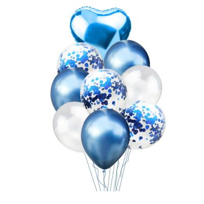 Balónkový set modrá