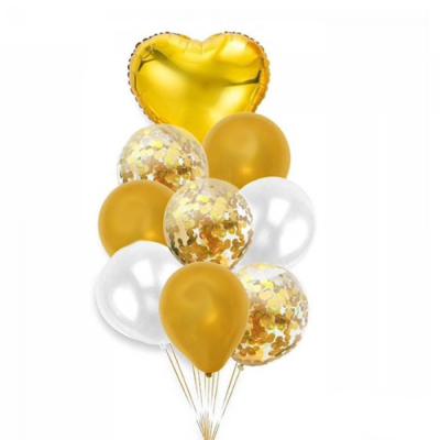 Balónkový set zlatá