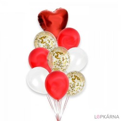 Balónkový set červená