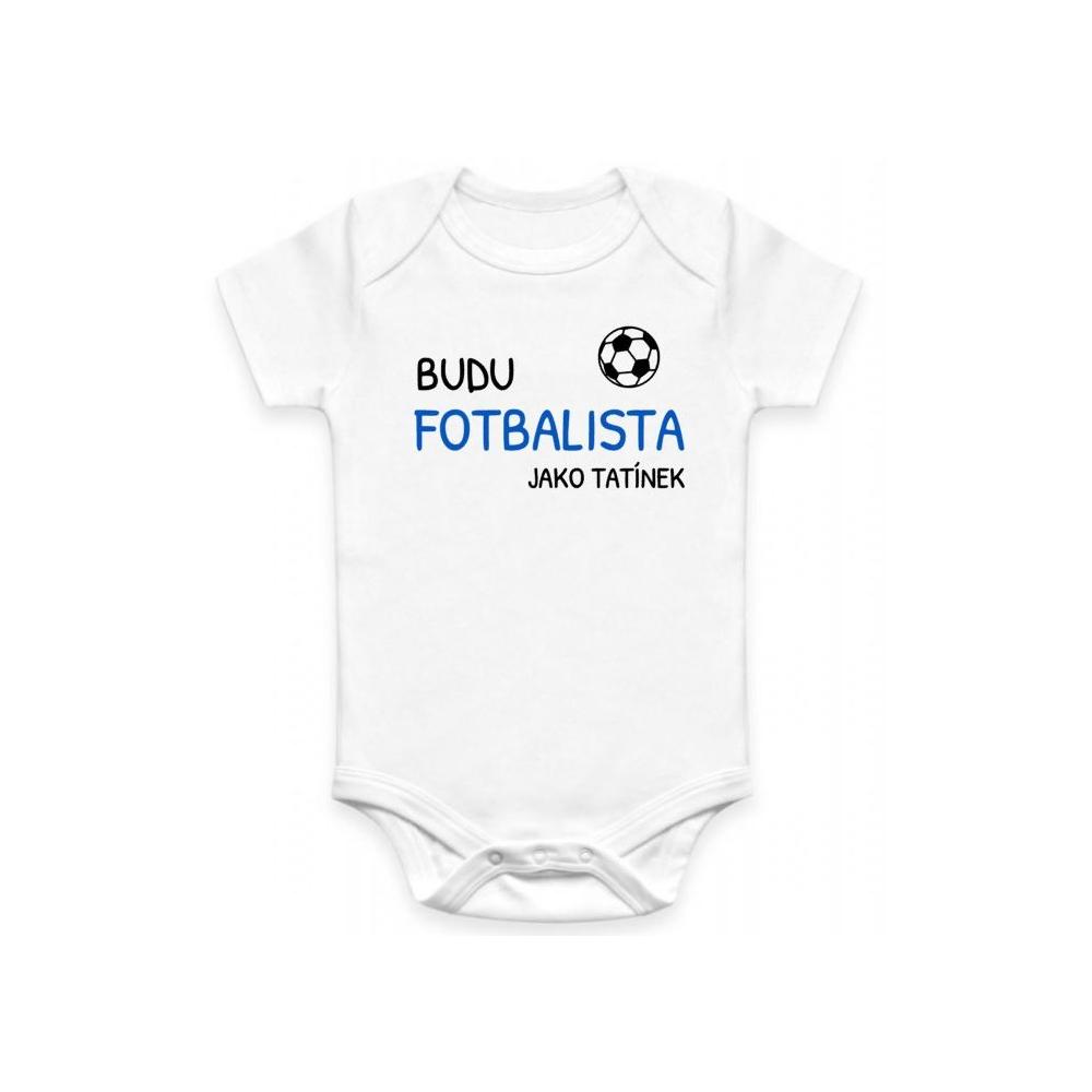 Dětské BODY Budu fotbalista jako tatínek