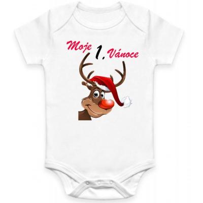 Dětské BODY Moje 1. Vánoce