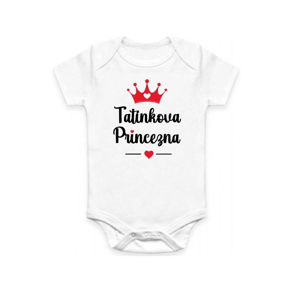Dětské BODY Tatínkova princezna
