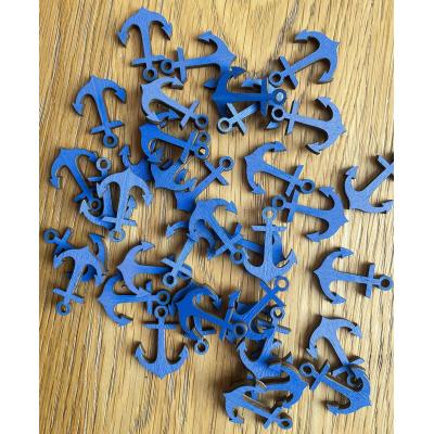 Kotvy 3 cm - výřezy z dřevěné překližky / tvoření