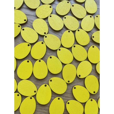 Velikonoční vajíčka 3 cm - výřezy z dřevěné překližky / tvoření