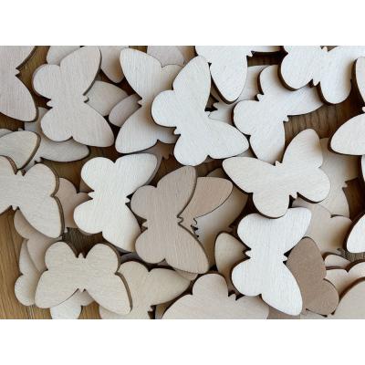Motýl - dřevěné výřezy / tvoření