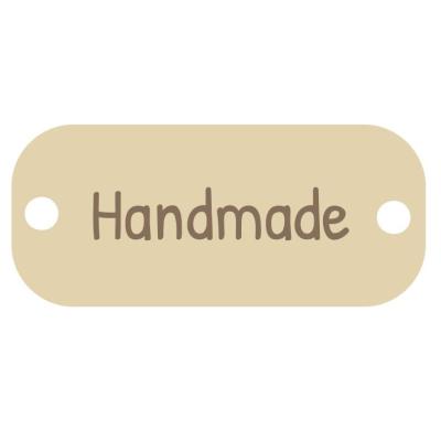 Dřevěná cedulka - Handmade - 30 ks