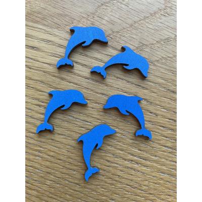 Delfín- dřevěné výřezy / tvoření