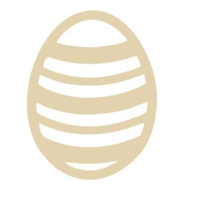 Dřevěné vajíčko I