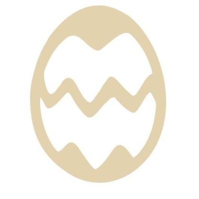 Dřevěné vajíčko II