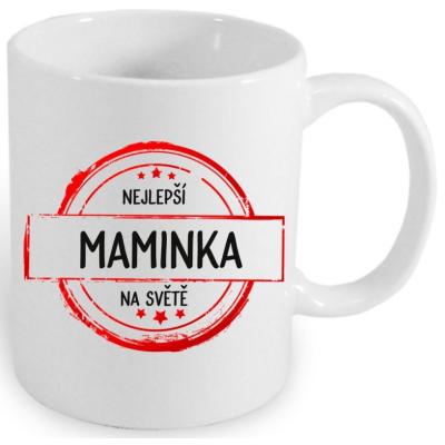 Hrnek NEJLEPŠÍ MAMINKA IV